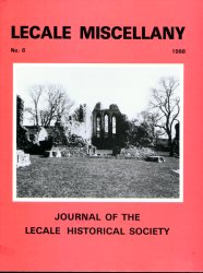 Front Cover: Inch Abbey near Downpatrick. 12th Century Cistercian Abbey founded by John deCourcy, Norman Conquerer of Down. Earliest surviving Gothic building in Ireland.