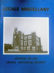 Front Cover: King's Castle, Ardglass, presently restored as a nursing home.