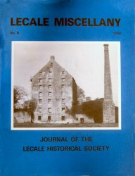 Front Cover: Ballydugan Flour Mill was once owned by John Auchinleck and was a 'going concern' in December 1792.