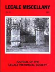 Front Cover: Finnebrogue's old gate piers, built probably in the seventeenth century, as viewed from within the driveway