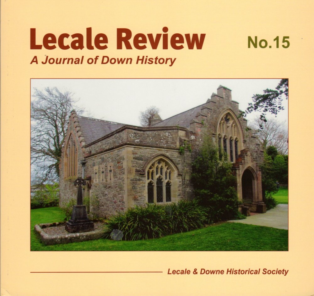 Front Cover: Old Court Chapel, Strangford, including the grave of Georgiana, Lady de Ros